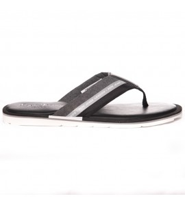Pepe Jeans Barrel Reflective Chambray flip flops pms90075-999 Black Νεες παραλαβες
